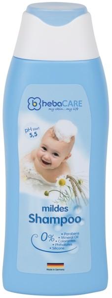 hebaCARE mildes Shampoo